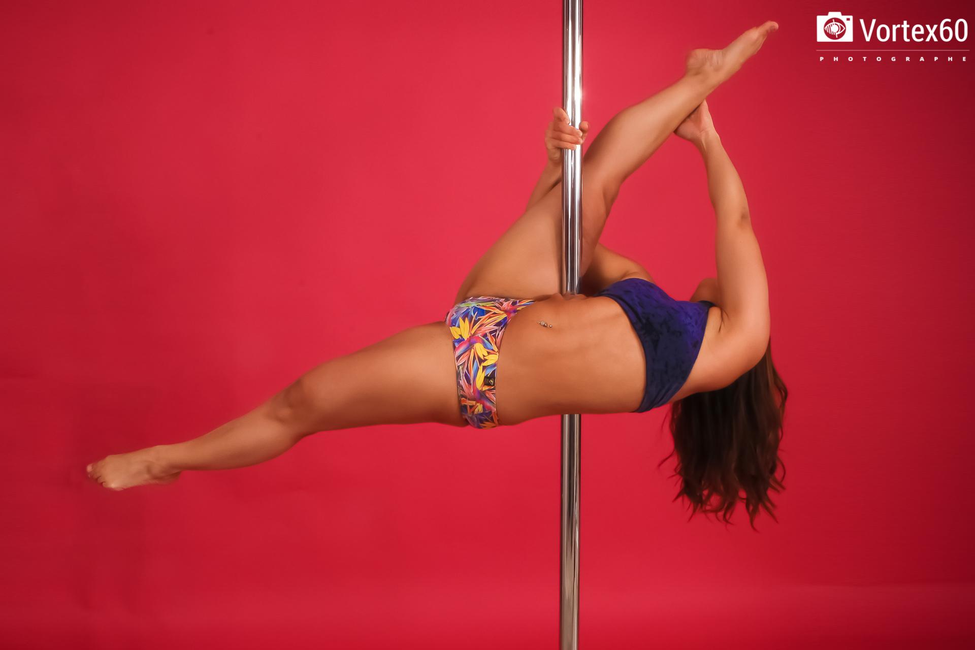 Carole Thib - Pole Dance by Vortex60 Photographe