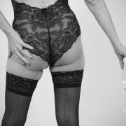 Champagne sexy - Estella Dessous by Vortex60 Photographe