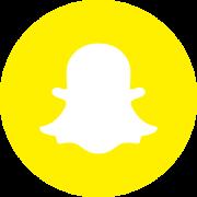 Logo snapchat rond bounproject